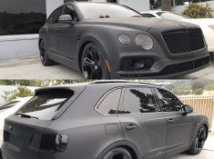 MSB Baseball Player Carl Crawford's 2017 Bentley Bentayga