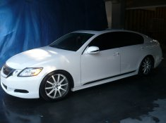 Mike Moustakas 2010 Lexus GS350