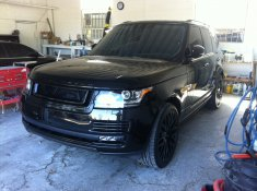 Jimmy Rollins 2014 Range Rover Kahn Package.