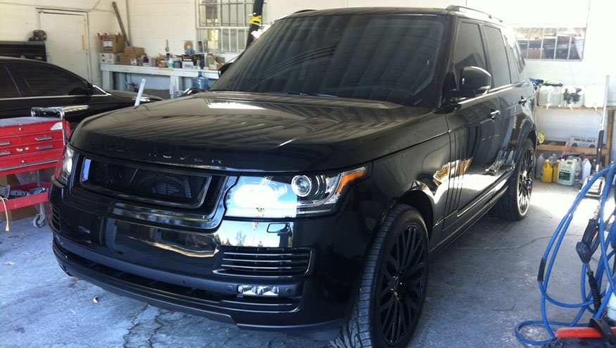 Jimmy Rollins 2014 Range Rover Kahn Package